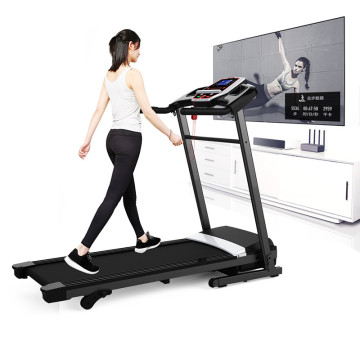 0.6HP electric motorized 380mm running surface treadmill