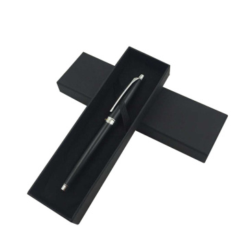 Black Matte Lamination Gift Pen Packing Box