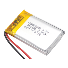 3.7v 800mAh LiPo Battery For Bluetooth Speakers (LP2X3T6)