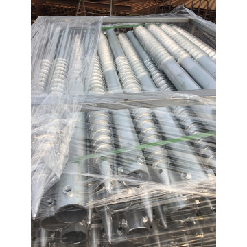 Steel Helical Ground Screw Pile