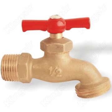 factory Outlets for for Brass Ball Bibcock Simple Long Life Brass Faucet export to Mexico Exporter