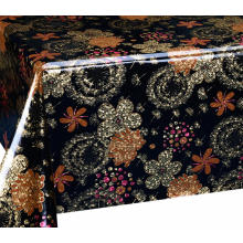 Best Price for for Double Face Coating Tablecloth Double Face Emboss printed Gold Silver Tablecloth Costco export to United States Supplier