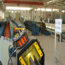 Heavy duty storage rack roll forming machine