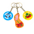 Custom Rubber Soft Pvc Keychain Plastic Customized Key Chain