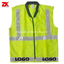 EN471 Oxford fluorescent vest with logo