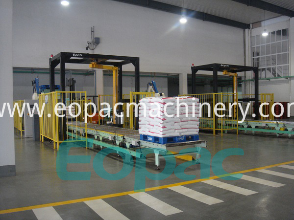 Automatic Arm Pallet Wrapping Machine Online