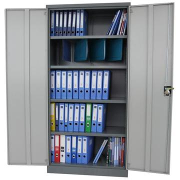 Double door wardrobe design office filing cabinet