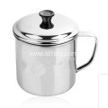 Stainless Steel Cup With Handle And Lid