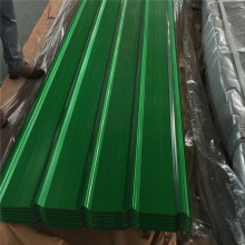 Thickness 0.7mm colored roofing sheet for makeshift house