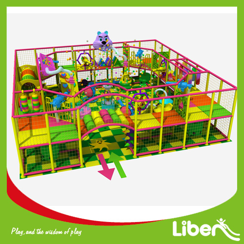 Kids club mall plaza indoor playground