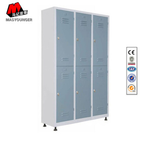 6 Door Metal Locker With Holes