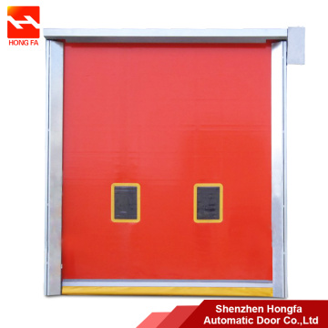 Self repair PVC High Speed Rolling Repaid Door