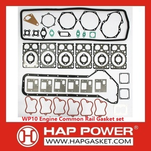 Special Design for Head Gasket Set Weichai WP10 Engine Common Rail Gasket set supply to Greece Importers