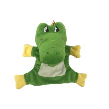 Crocodile Green Puppet Hand