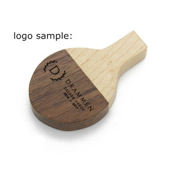 Wooden Racket Flash Drive 4GB 8GB 16GB