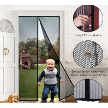 Customized Supplier for Roller Screen Door Customized retractable Mosquito net durable mesh supply to Japan Wholesale