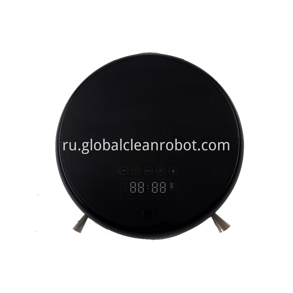 LED Touch Display Vacuum Robot (1)