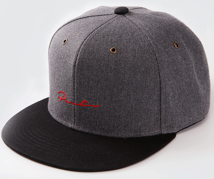 Embroidery Hip Hop Cap Grey
