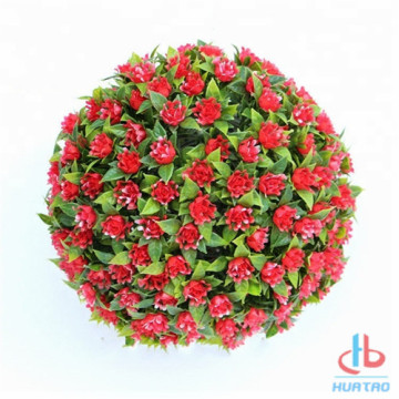 Holiday sales for Outdoor Artificial Grass Ball Flame Resistant Artificial Plant Ball supply to Japan Supplier