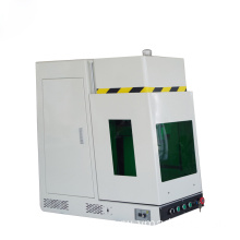 Enclosed JPT Color MOPA Fiber Laser Marking Machine