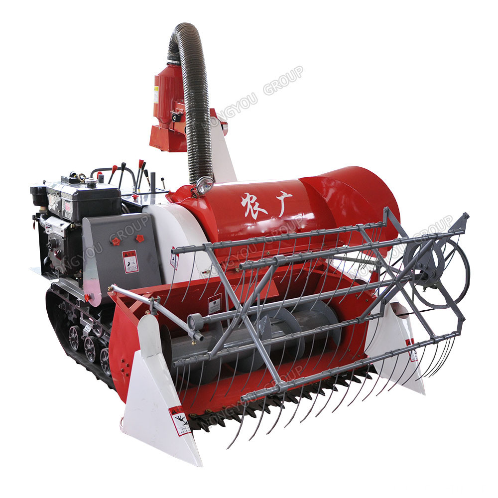 Factory Direct Harvester Mini Grain Harvester 4LZ-0.8