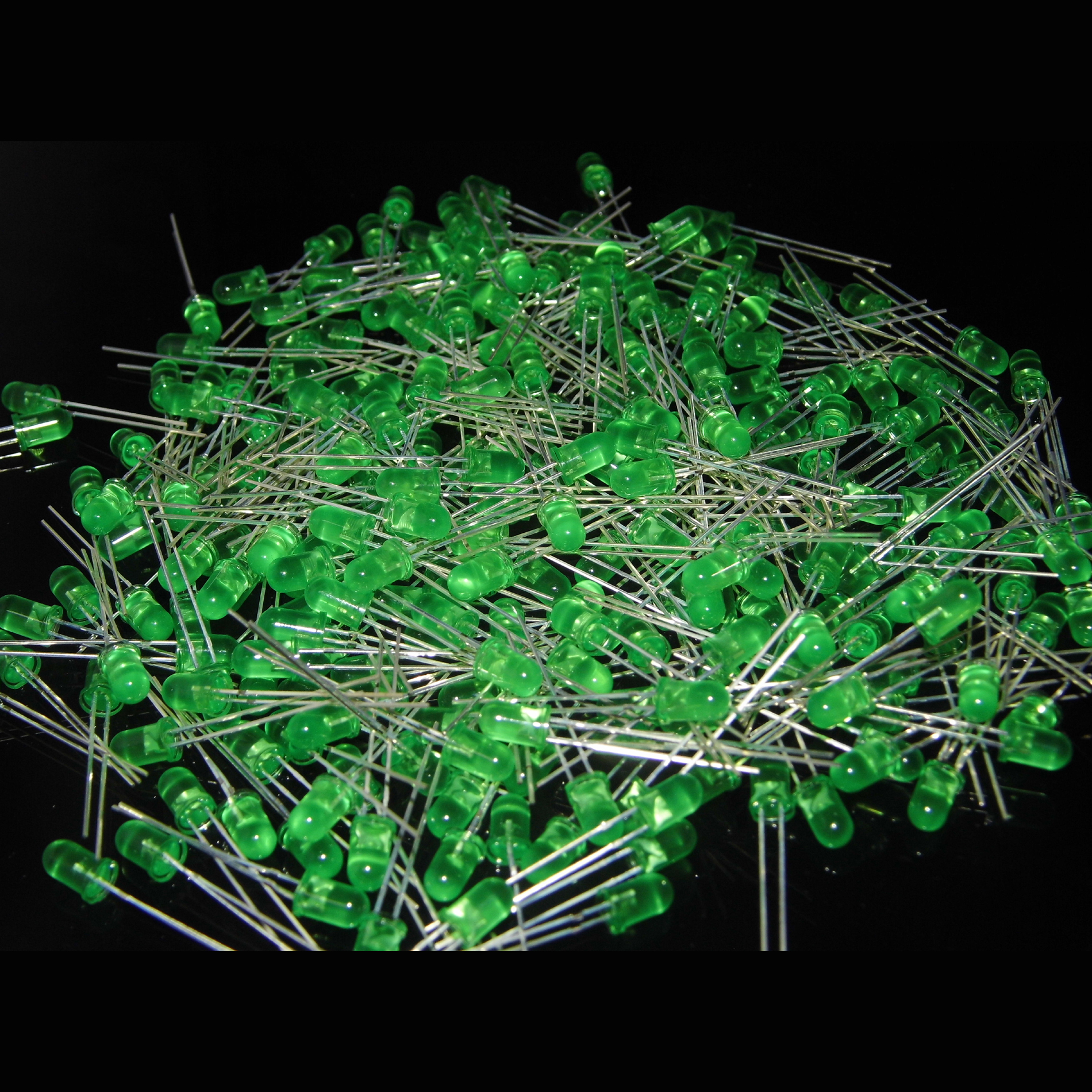 5mm Green LED diffused