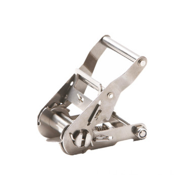 50MM Wide Handle light duty 304 SS ratchet buckle
