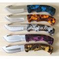 New Design Plastic Handle Hunting Knife