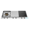36 Segmented Cooktop Induction Zones and Griddle