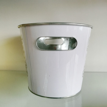 High-quality Galvanized Tin Beer Ice Bucket