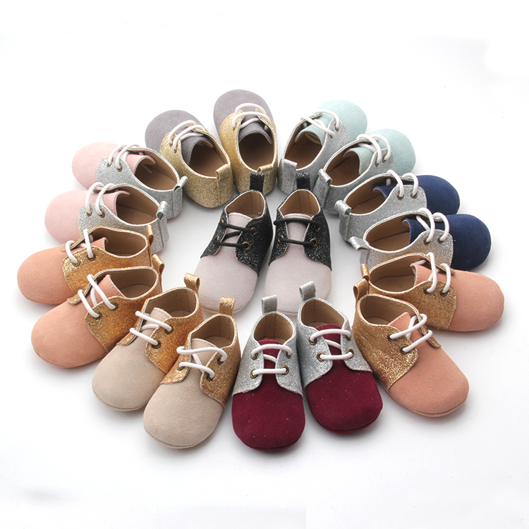 Leather casual shoes for baby newborn