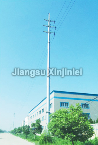 110kV Double Circuit Suspension Type Utility Pole
