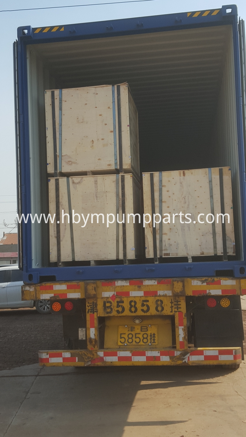 Concrete Parts Load Container