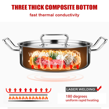 Stainless Steel Hot Pot With Separate Line