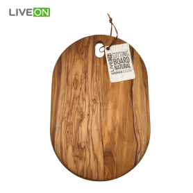 Olive Wood Handcrafted Round Cutting Board