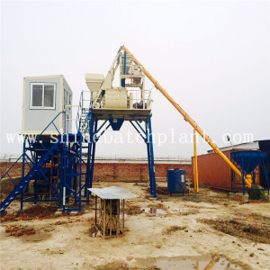 40 Stationary Concrete Mix Batch Plant