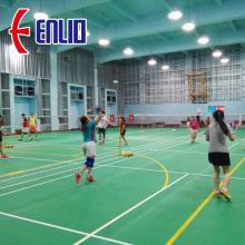 Enlio badminton flooring with BWF