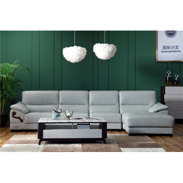 Quality for Modern Genuine Leather Sofa New L Shape Sofa Designs export to India Exporter