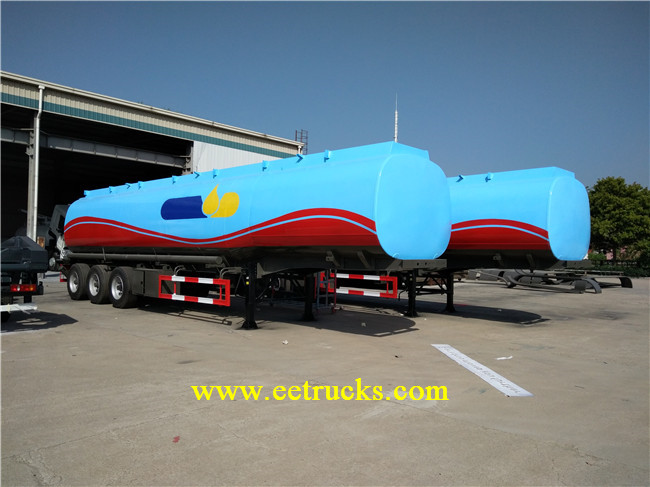 35 CBM Oil Tank Trucks