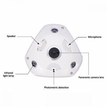 3mp 360 panoramic wifi home security camera