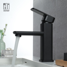 Full Brass Black Under Counter Basin Water Faucet