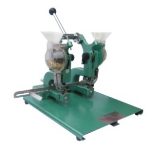 ZXM-2 Twin Heads Manual Eyeleting Machine