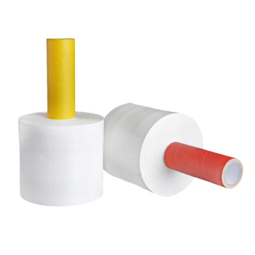 New product model Handle stretch film hand wrap roll