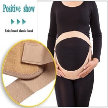 Elastic pregnancy support maternity belly band belt
