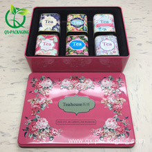 Factory selling for Metal Tea Containers metal box for tea packaging supply to India Factory