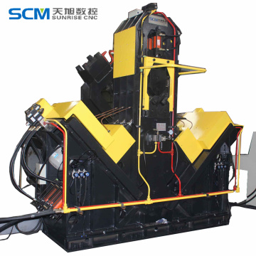 High speed Automatic Angle Drilling Marking Line