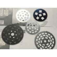Glass fibre planet star wheel