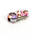 Flower color fiat punto silicone car key cover