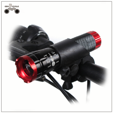 Bicycle head light bicycle Focus flashlight set mountain bike light
