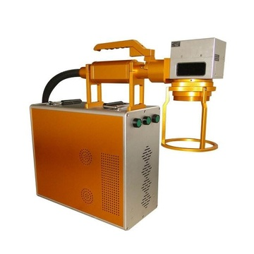 Portable Fiber Laser Marking Machine On Stainless Steel